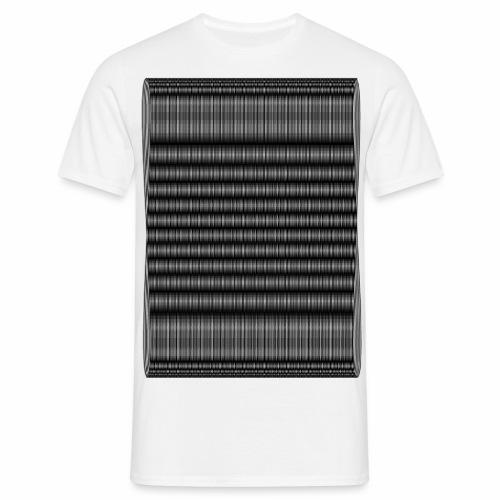 Moire III [Noir] - T-shirt Homme