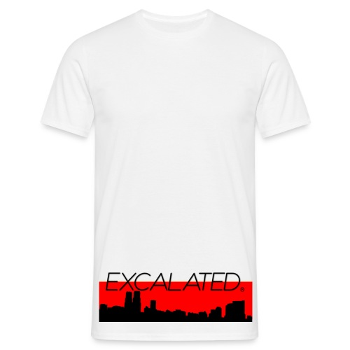 Excalated Skyline - Männer T-Shirt