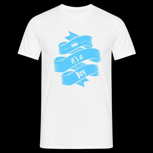 it's a Boy - Männer T-Shirt