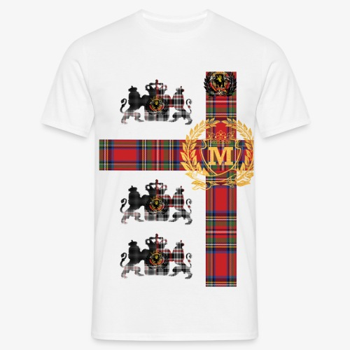 Royal Check1 1 - Mannen T-shirt