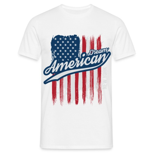 usa american dreams - Mannen T-shirt