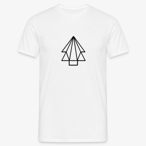 Tree-Logo with Strings - Men's T-Shirt