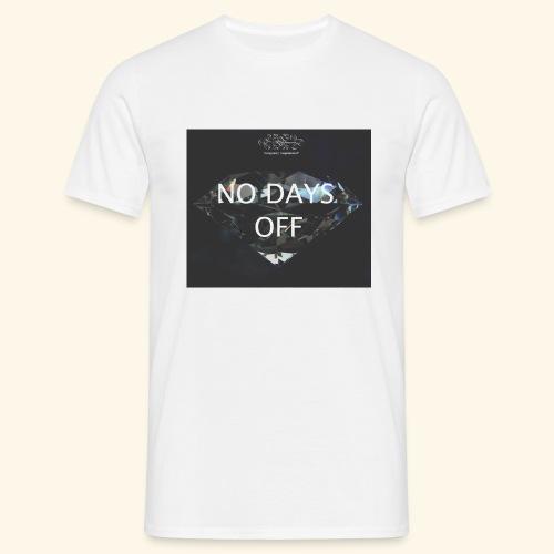 No Days Off - Maglietta da uomo