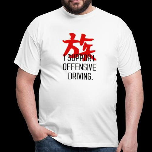 OFFENSIVE DRIVING - T-shirt Homme