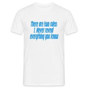 Two rules - T-skjorte for menn