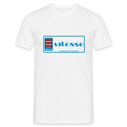 Monaco plate 1977 VITESSE vintage retro - Camiseta hombre