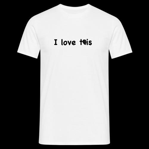 töis fanlogo - Miesten t-paita