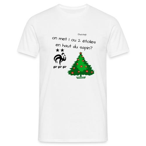 on met 1 ou 2 étoiles ? - T-shirt Homme
