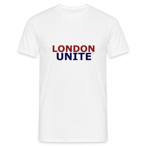 London Unite White T-Shirt - Men's T-Shirt