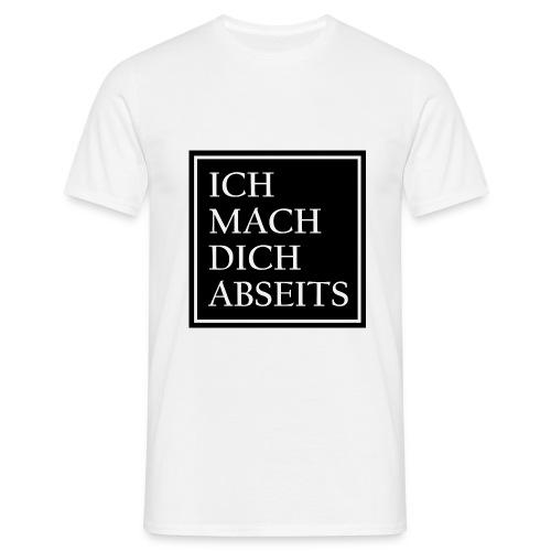 Ich mach dich Abseits - Männer T-Shirt