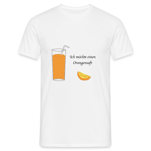 Orangensaft - T-shirt Homme
