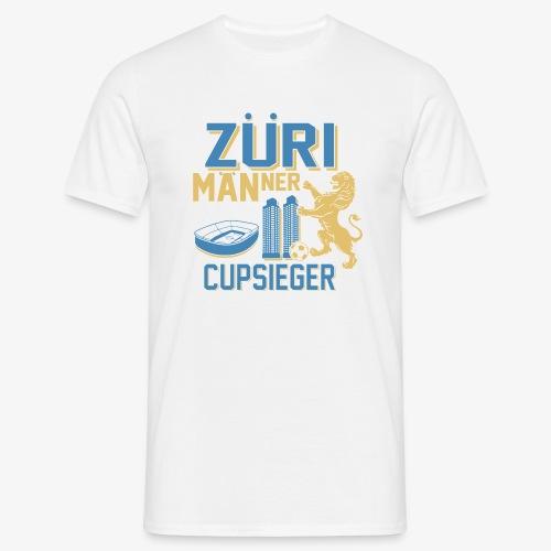 ZÜRI MÄNNER Fussball Cupsieger - Männer T-Shirt