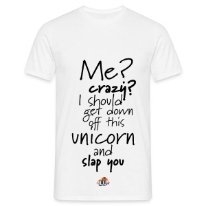 Crazy Unicorn Style (Dark) - Men's T-Shirt
