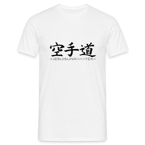 # Je suis un karateka - T-shirt Homme