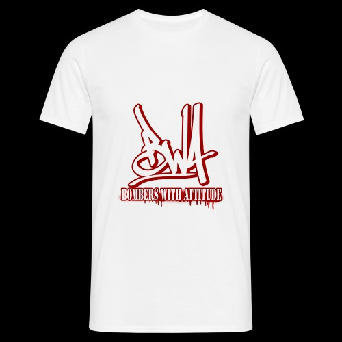 BWA-Bombers with attitude - Männer T-Shirt
