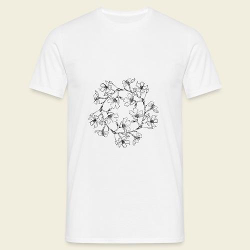 Blütenkreis - Männer T-Shirt