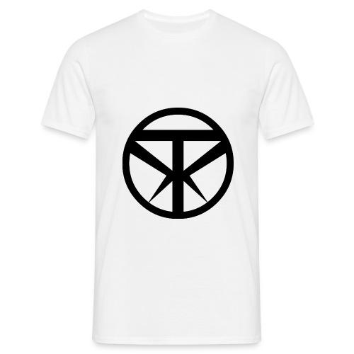 Tridex Logo Black - Men's T-Shirt