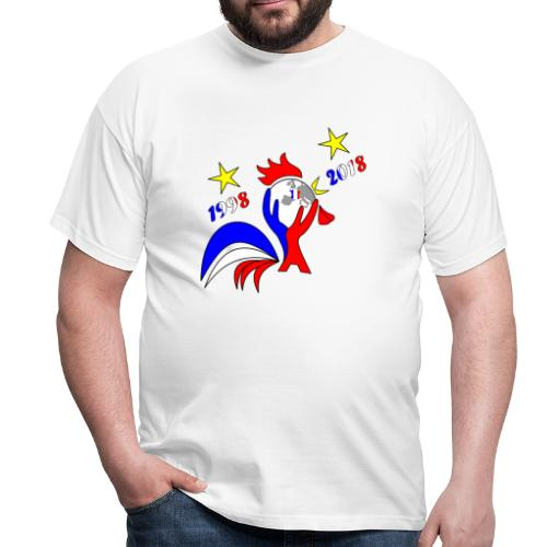 coupe du monde France 2018 football les bleus - T-shirt Homme