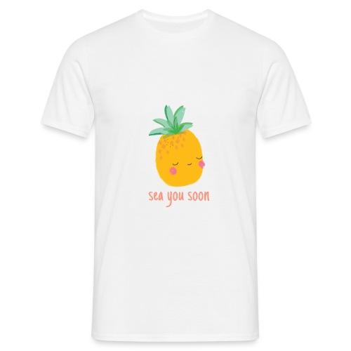 Sea you soon - Men's T-Shirt