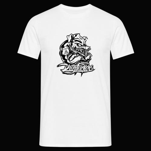 Drug_Fuckers_Logo _-_ Composition_01-_black - Men's T-Shirt