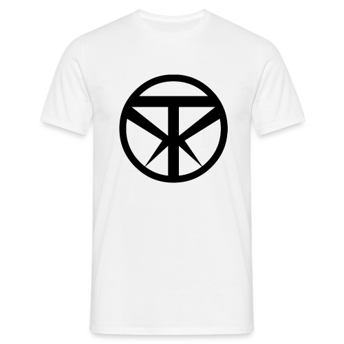 Tridex Logo Black - Men's T-Shirt