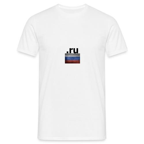 .ru Russland-Fahnen Trikot - Männer T-Shirt