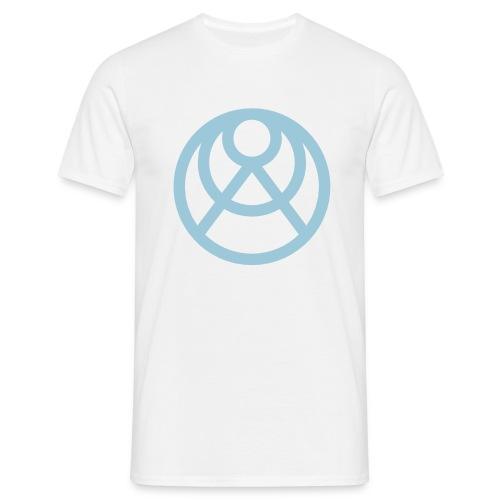 Faråkra symbol blå - T-shirt herr
