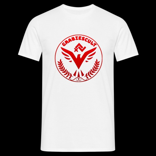 GrabiesCult red edition - Herre-T-shirt