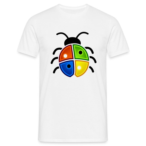 WINDOWS BUG/VIRUS - Männer T-Shirt