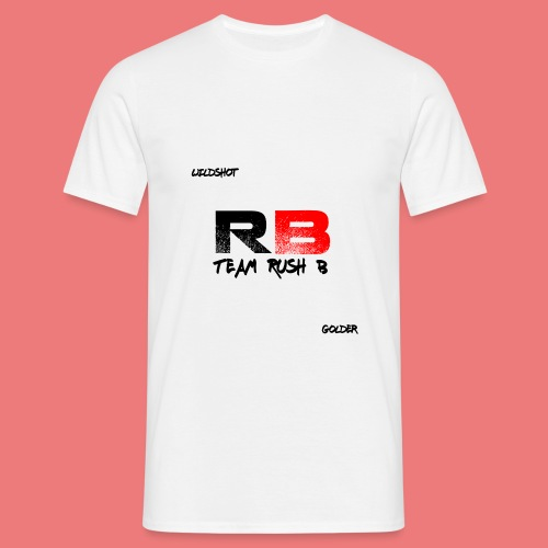 trb logo wildshot - Men's T-Shirt