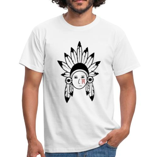 Native Chief Print - Men's T-Shirt