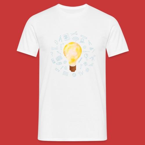 5 IDEEN Glühbirne 2018 - Männer T-Shirt
