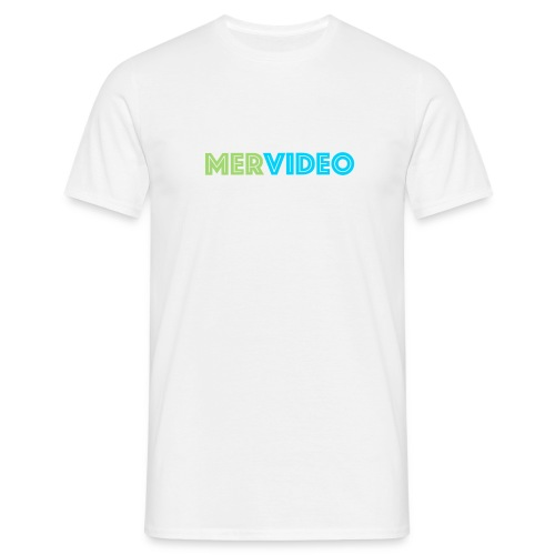 Mervideo - Mannen T-shirt