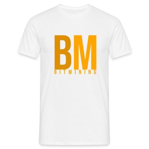 BitMining official Logo - T-shirt Homme