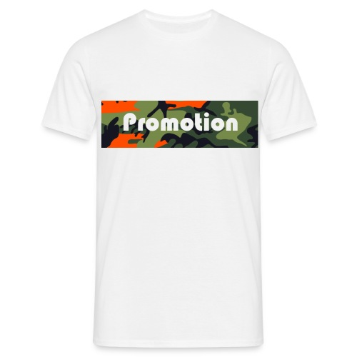 Promotion Box Logo - Männer T-Shirt