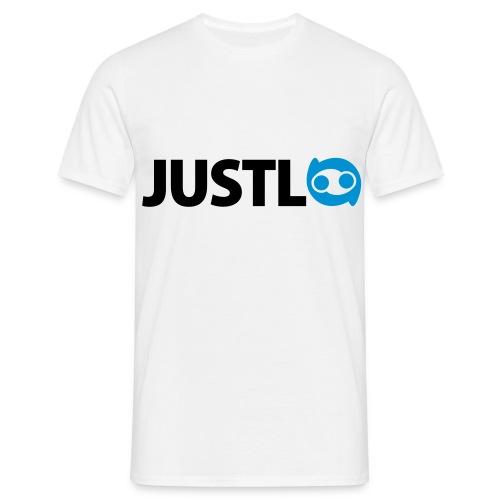 Justlo Logo - Männer T-Shirt