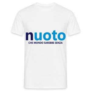 NUOTO - CHE MONDO SAREBBE - Maglietta da uomo