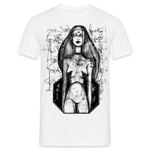 Swastika Space - Mannen T-shirt