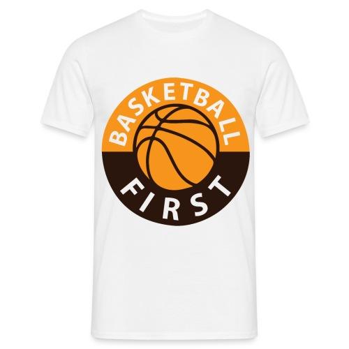 T-Shirt Basketball First - Männer T-Shirt