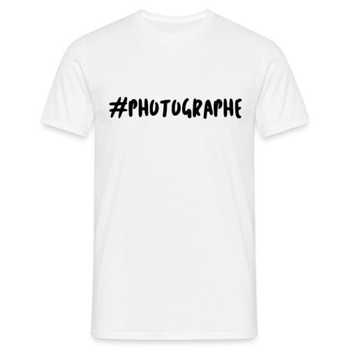 #photographe - T-shirt Homme