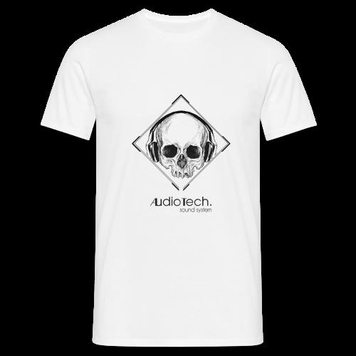 © Audiotech Skull - Männer T-Shirt