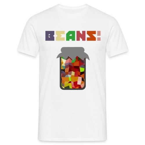 BEANS!!!! - Men's T-Shirt