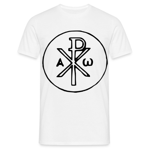 Chi Rho - Männer T-Shirt