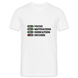 Focus on - Männer T-Shirt
