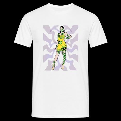Motif Girl - T-shirt Homme