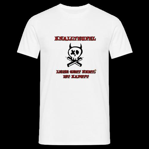 Knallteufel - Männer T-Shirt