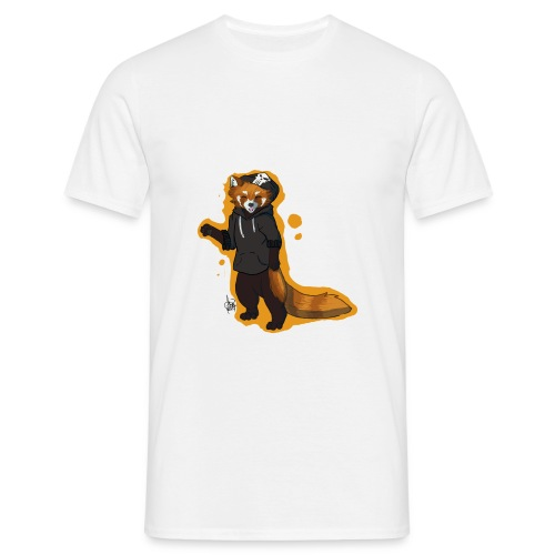 Red Panda Disign - Männer T-Shirt