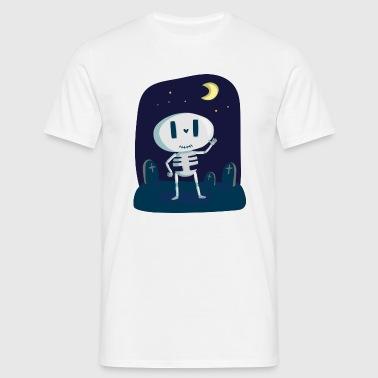 Skeleton - Halloween - Maglietta da uomo