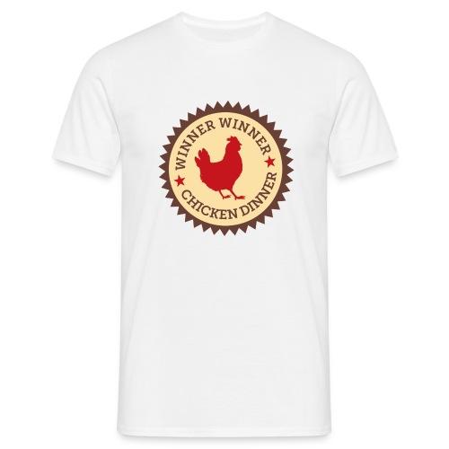 WINNER WINNER CHICKEN DINNER - Men's T-Shirt
