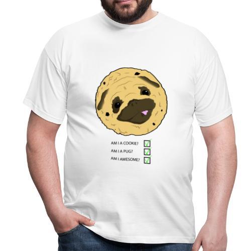 Pug Cookie - Mannen T-shirt